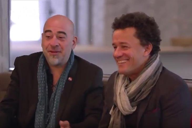 Stephane Belmondo et Jacky Terrasson
